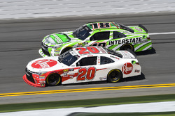 Daniel Suarez, Joe Gibbs Racing, Interstate Batteries Toyota Camry, Christopher Bell, Joe Gibbs Raci