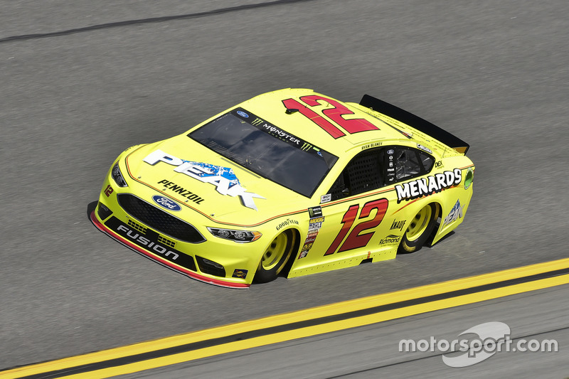 Ryan Blaney, Team Penske, Menards/Peak Ford Fusion