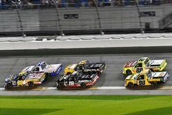 Clay Greenfield, Clay Greenfield, AMVETS Please Stand Motorsports Chevrolet Silverado snf Noah Gragson, Kyle Busch Motorsports, Safelite Autoglass Toyota Tundra