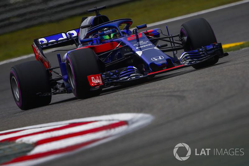 18 місце — Брендон Хартлі, Toro Rosso. Умовний бал — 5,838