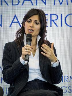 Virginia Elena Raggi, Mayor of Rome,in the FIA Smart Cities conference