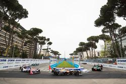 Lucas di Grassi, Audi Sport ABT Schaeffler, Jean-Eric Vergne, Techeetah, Nick Heidfeld, Mahindra Racing