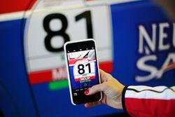 Foto al numero della Porsche 911 GT3 Cup di Marco Cassarà, Ombra Racing