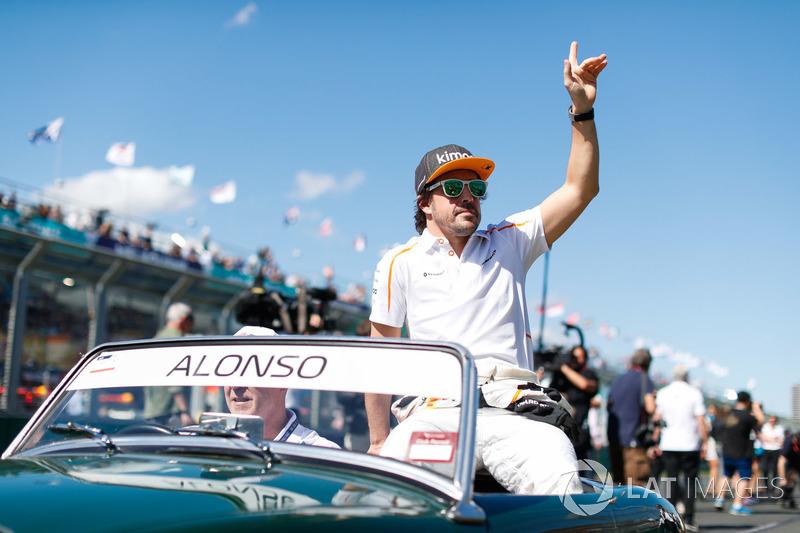 """Fernando Alonso: """"É um bom começo e temos muito potencial no carro. Ainda há muito a descobrir e esperamos que nas próximas corridas possamos mirar mais alto"""""""