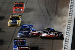 Crash: Ben Rhodes, ThorSport Racing Toyota