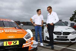 Robin Frijns, Team Abt Sportsline en Bernhard van Oranje