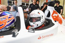 F1 Experiences 2-Seater passenger Guy Martin,