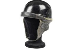 1952 helmet by repute property of Juan Manuel Fangio