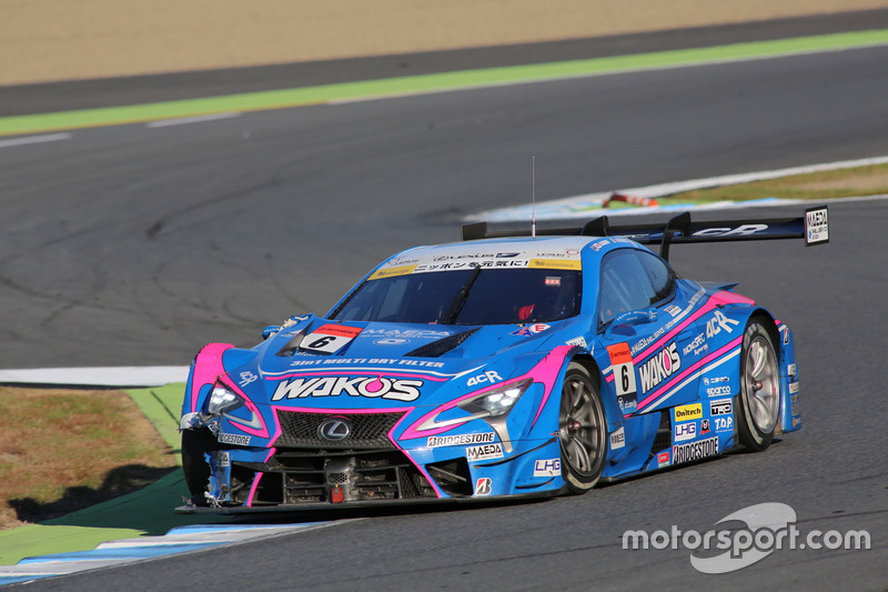 "Казуя Ошима и <img src=""https://cdn-7.motorsport.com/static/img/cfp/0/0/0/200/207/s3/sweden-2.jpg"" alt="""" width=""20"" height=""12"" />Феликс Розенквист – Lexus Team LeMans Wako's, №6 (Lexus LC 500)"
