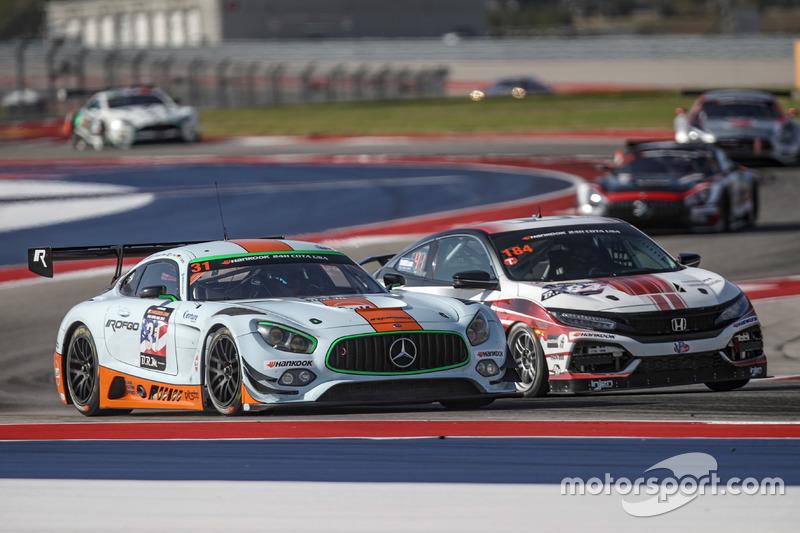 #31 ROFGO Racing, Mercedes-AMG GT3: Roald Goethe, Stuart Hall, Jamie Campbell-Walter, Nicolas Minass