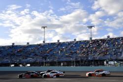 Ryan Preece, Joe Gibbs Racing Toyota, Cole Custer, Stewart-Haas Racing Ford
