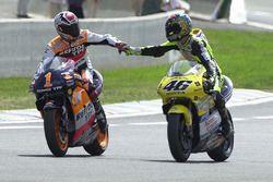 Yarış galibi Alex Criville, 3. Valentino Rossi
