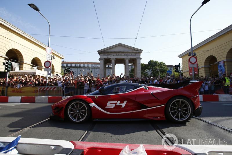 Автомобиль Ferrari FXX-K