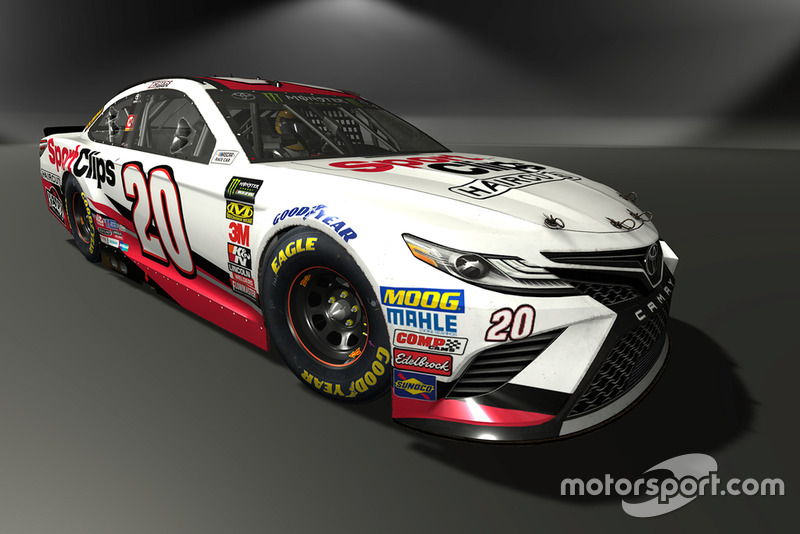Erik Jones, Joe Gibbs Racing, Toyota Camry - NASCAR Heat 3 skin