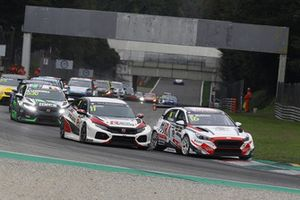 Jens Reno Møller, Reno Racing, Honda Civic Type R TCR, Nicola Baldan, Pit Lane Competizioni Hyundai i30 N TCR