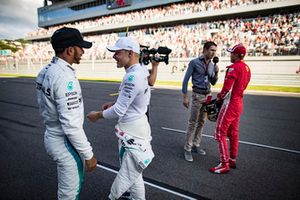 Lewis Hamilton en Valtteri Bottas, Mercedes AMG F1