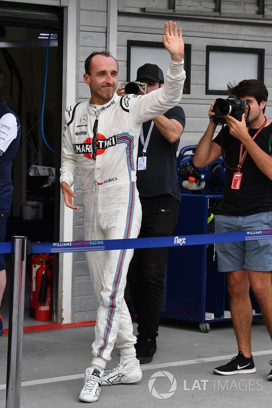 Robert Kubica, Williams waves
