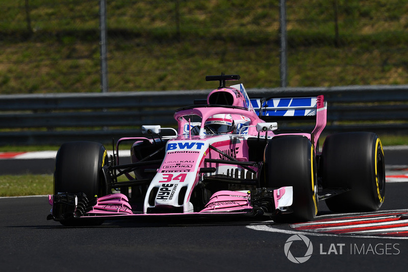 Nikita Mazepin, Force India VJM11, Artem Markelov, Renault Sport F1 Team R.S. 18
