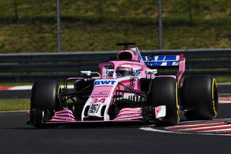 Nikita Mazepin, Force India VJM11 .Artem Markelov, Renault Sport F1 Team R.S. 18