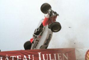 Tödlicher Unfall: Gonzalo Rodriguez, Team Penske, Lola-Mercedes