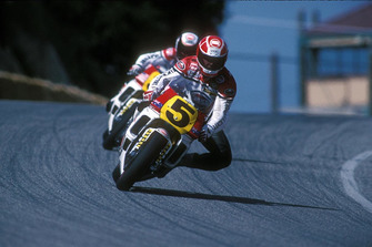 Kevin Magee y Wayne Rainey