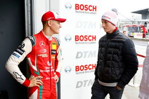 Mick Schumacher with David Schumacher