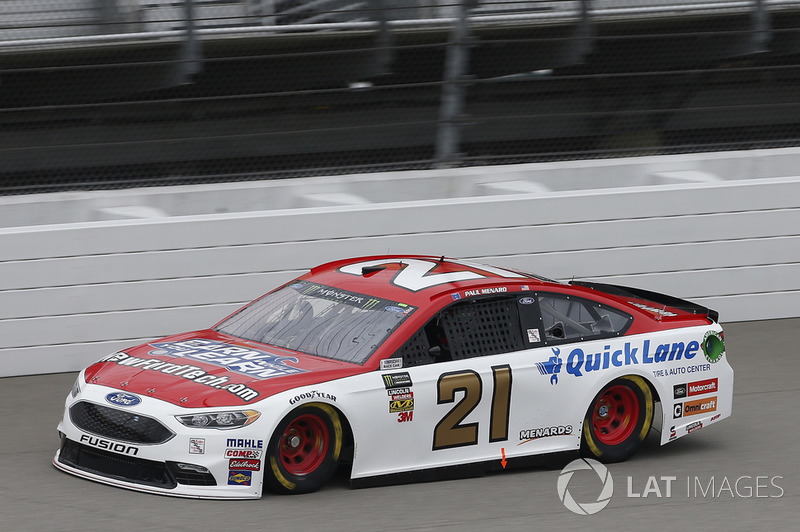 14. Paul Menard, Wood Brothers Racing, Ford Fusion Earn While You Learn/NewFordTech.com