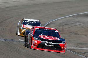 Ryan Preece, Joe Gibbs Racing, Toyota Camry Rheem and John Jackson, Carter Racing, Toyota Camry CrashClaimsR.US