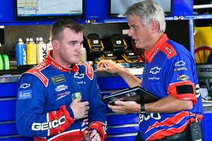 Ty Dillon, Germain Racing, Chevrolet Camaro GEICO and Matt Borland