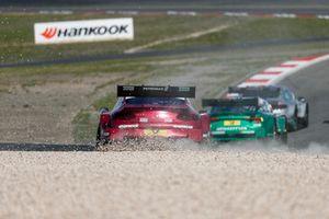 Edoardo Mortara, Mercedes-AMG Team HWA, Mercedes-AMG C63 DTM in the gravel