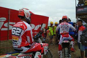 Farhan Hendro en Rizky HK, Team Merah Putih