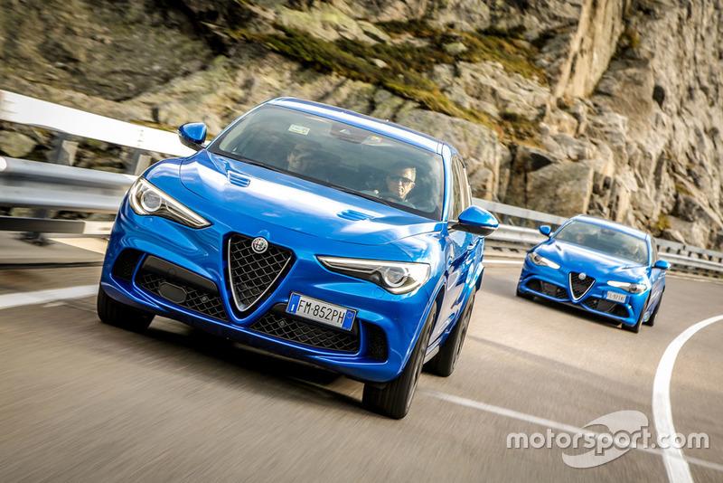 Alfa Romeo Giulia Quadrifoglio та Stelvio Quadrifoglio