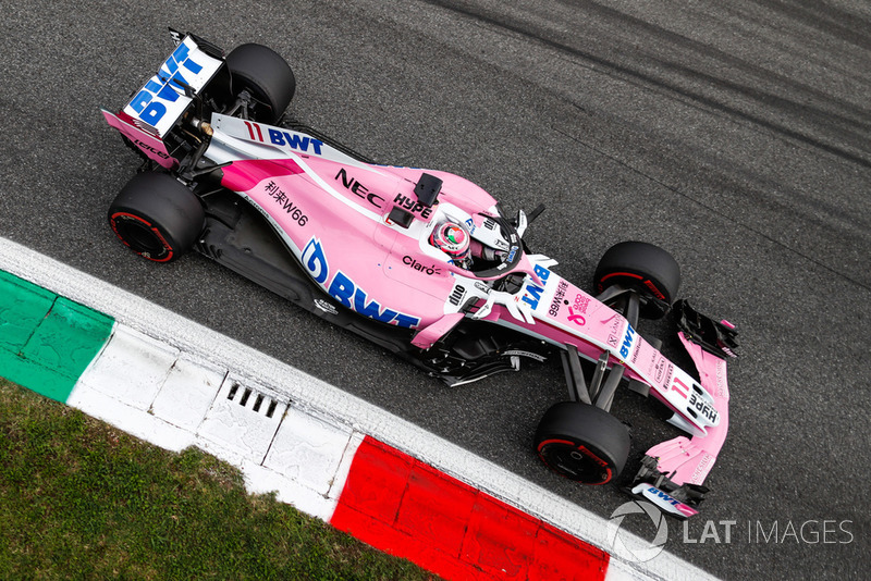 7e : Sergio Pérez (Racing Point Force India)