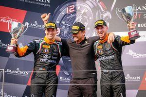 Podium: #63 GRT Grasser Racing Team Lamborghini Huracan GT3: Mirko Bortolotti, Christian Engelhart