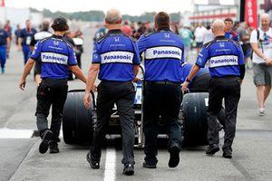 Crew di Takuma Sato, Rahal Letterman Lanigan Racing Honda
