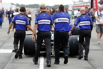 Takuma Sato, Rahal Letterman Lanigan Racing Honda crew