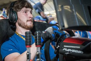 Jon Armstrong, champion du monde eSports WRC