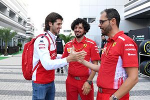 Antonio Giovinazzi, Sauber y miembros del equipo Ferrari