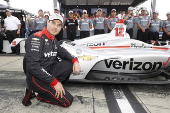 Will Power, Team Penske Chevrolet celebra la pole
