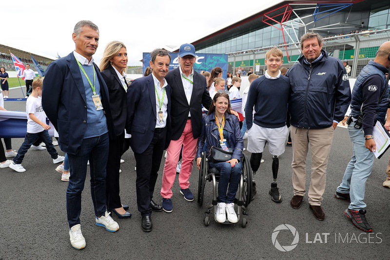 Billy Monger, François Fillon, Presidente ACO, Gerard Neveu, CEO WEC