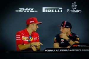 Charles Leclerc, Ferrari, Max Verstappen, Red Bull Racing