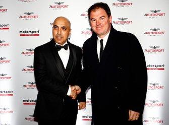 Motorsport Network President James Allen arrives