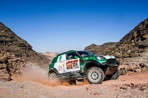 Ясир Сейдан и Алексей Кузьмич, Race World Team, Mini JCW Rally (№324)
