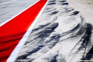 A view of the pit lane at WEC COTA
