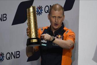 Podium : Aki Ajo, Red Bull KTM Ajo
