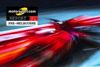 Copertina Report F1 Pre-Melbourne