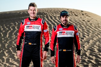 Fernando Alonso, Toyota Racing, Marc Coma, Toyota Racing