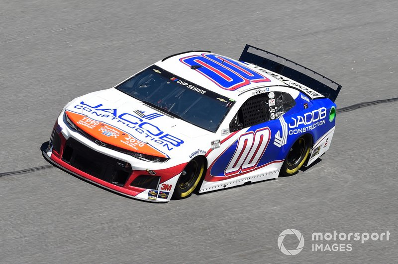 35. Quin Houff, StarCom Racing, Chevrolet Camaro Jacob Construction
