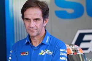 Руководитель Team Suzuki Ecstar Давиде Бривио