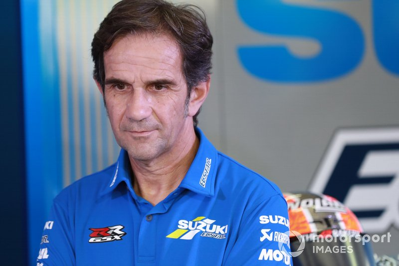 Davide Brivio, director de Alpine